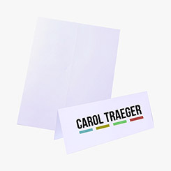 Name Badge Inserts, Personalized Name Tags & Custom Badges - MARCO