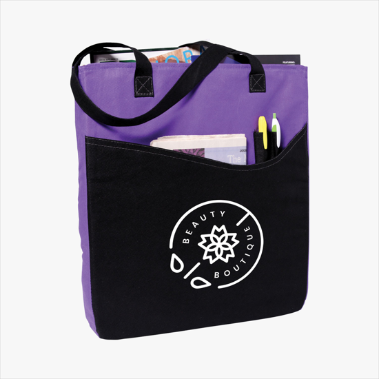 Trade Show Bags Totes 30 W Printed Business Logo Marco