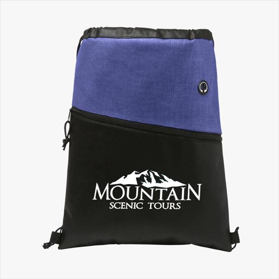 ed653f3f7 Custom Drawstring Bags - Logo Drawstring Backpacks | MARCO Promos