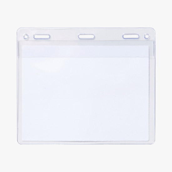 Name Tags: Plastic, Reusable, Clear, Colored, Blank