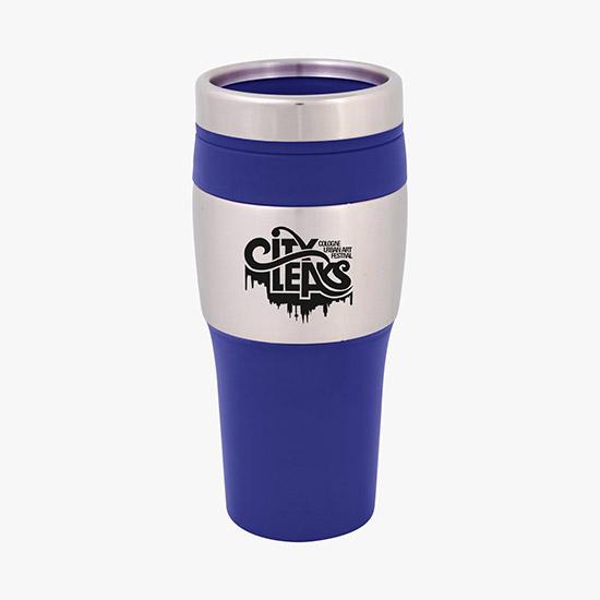 Custom Printed Plastic Travel Mugs & Coffee Tumblers | MARCO