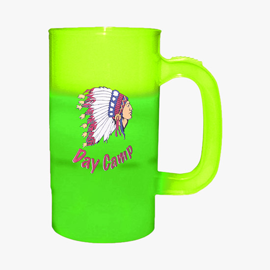 Land Rover Car Logo Graphic Mug Printed 16oz Frosted Glass Beer Stein Mug Cup
