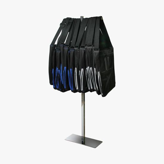 Texas State Flag Foldable Retractable Purse Bag Handbag Hook Hanger Holder