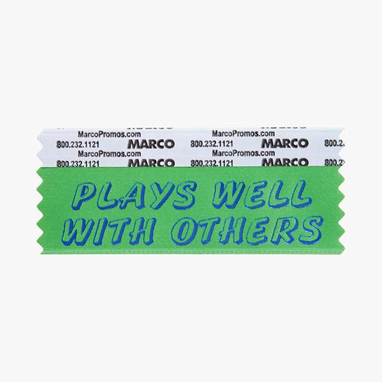 Fun & Funny Badge Ribbons, Personalized Ribbon Titles - MARCO