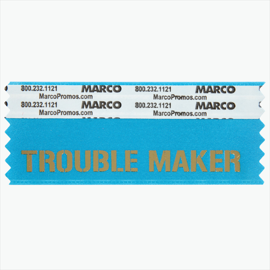 Fun & Funny Badge Ribbons, Personalized Ribbon Titles - MARCO