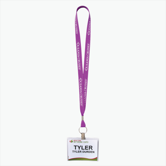 Polyester Lanyards & Neck Cords for Meetings & Events - MARCO Promos