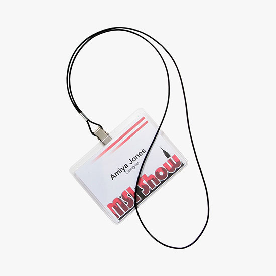433822171b3f4a MARCO Value Lanyard Badge Holder Bundle - 3