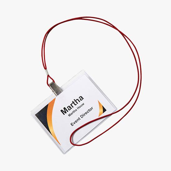 MARCO Custom Name Badges & Lanyards, SAVE Money with Bundles