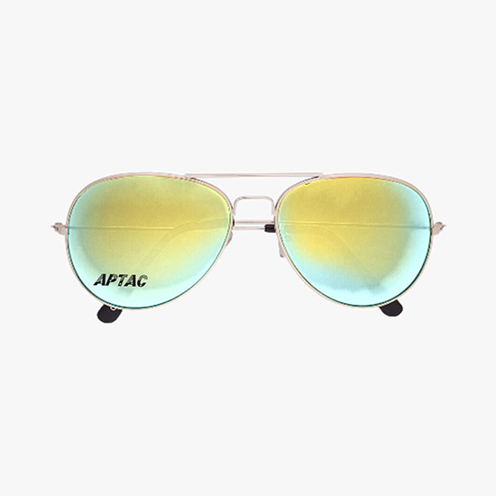 fb93a853b2 Color Mirrored Aviator Sunglasses