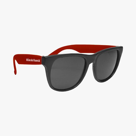 f4a3f4c45a Fun in the Sun Rubber-Rimmed Sunglasses