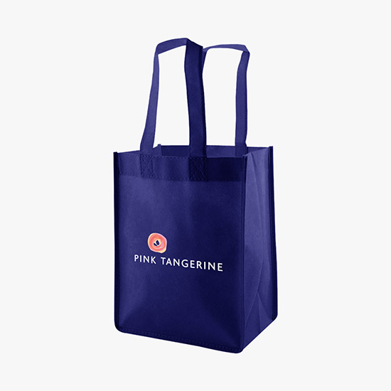 100 GSM Small Standard Celebration Shopping Tote - Full Color df7256a1796a0