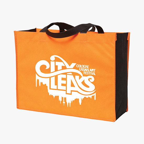 80 GSM Budget Tote Bag - Two-Tone - 24-Hour Production, TBE