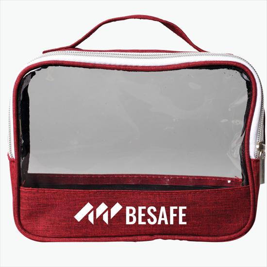 fb6c2b332b41 See-Through Travel Bag