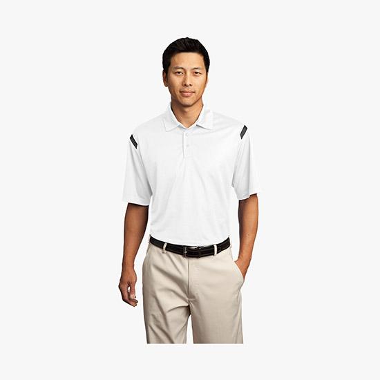 dad3cea3 Nike® Golf Dri-FIT Shoulder Stripe Polo WE-1058
