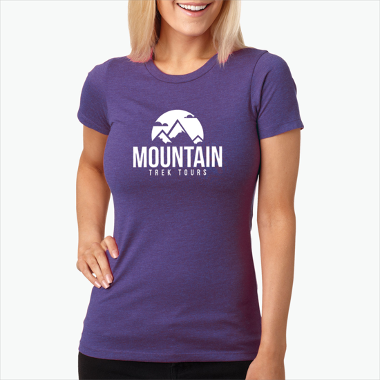 f42224ce9 WE-1076W-C Next Level CVC Blend Crew T-Shirt - Women's - Colors