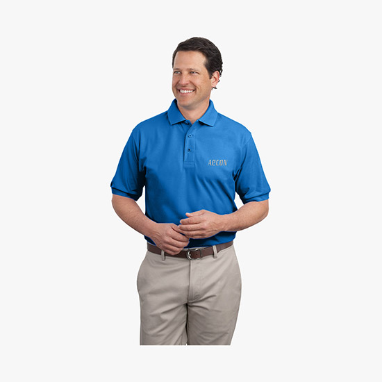 Custom Polo Shirts + Your Promotional Logo - MARCO Promos