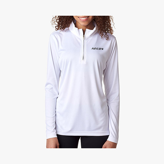 f69764e505a4 Cool   Dry Sport Performance 1 4-Zip Pullover - Women s