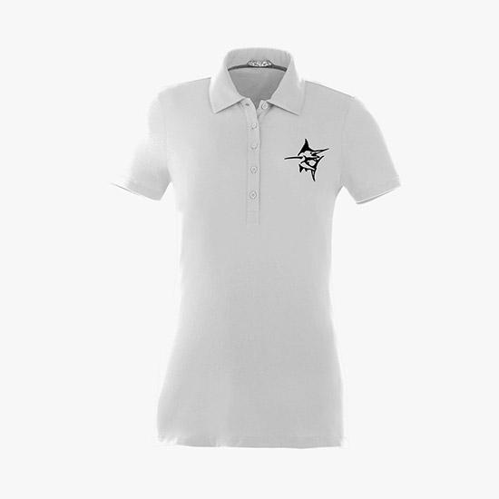 81127f27ce39ed Acadia Cotton Jersey Polo - Women s
