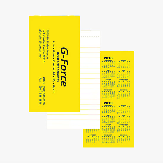 Neon Top Stapled Memo Book, WP-17031 - MARCO Promos