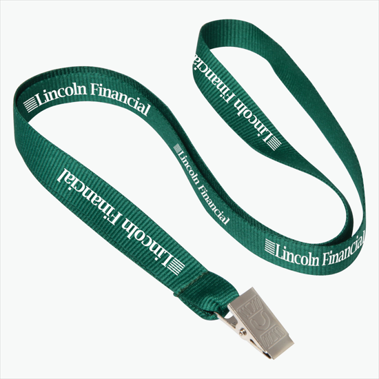LOT 100 FLAT NECK LANYARD WITH BULLDOG CLIP 6 COLORS AVAILABLE FREE SHIPPING