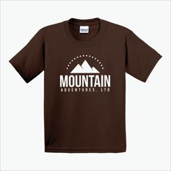 20f95181 Gildan® Youth Ultra Cotton T-Shirt - Colors Dark Chocolate