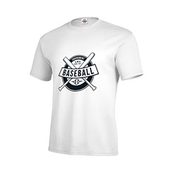 7672584d1a Delta Pro Weight Cotton T-Shirt - White, WE-16012W - MARCO Promos