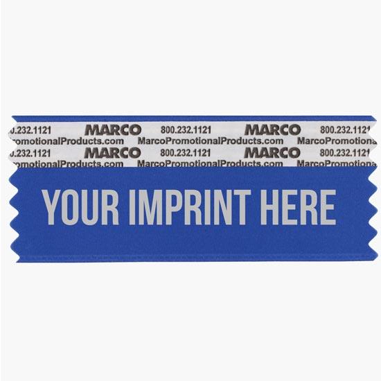 Badge Ribbons, 10¢ Pre-Printed + Custom Ribbon Titles - MARCO